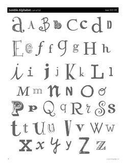 Jumble Alphabet