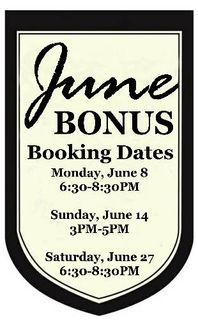 Bonus Booking Date