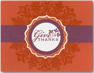 Give Thanks Card STAMPERS SHOWCASE