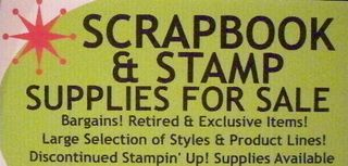 Stamp Sale Sign