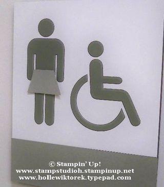 Kanab Restroom Sign