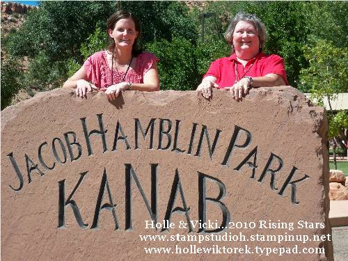 Kanab Holle Vicki Park Sign