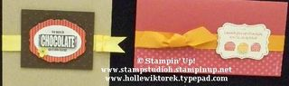 REGIONAL Chocolate Stamp Set Samples 2