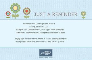 SU Summer Mini Catalog Invite