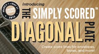 SimplyScoredDiagonalPlate