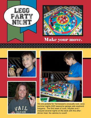 Lego Party Night
