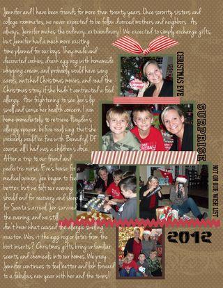 Christmas Eve Jen Layout