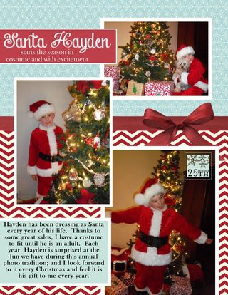 Santa Costume Hayden Layout