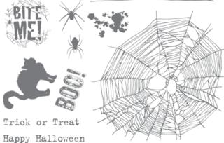 BiteMe.HalloweenPolymerStampSet